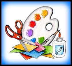 Arts&Crafts_WriterSideUp.com_byDonnaMarie