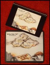 WriterSideUp-Notebook&Mousepad